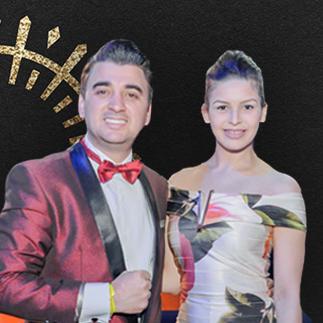 Roberto Formaio e Jaqueline Gonçalves